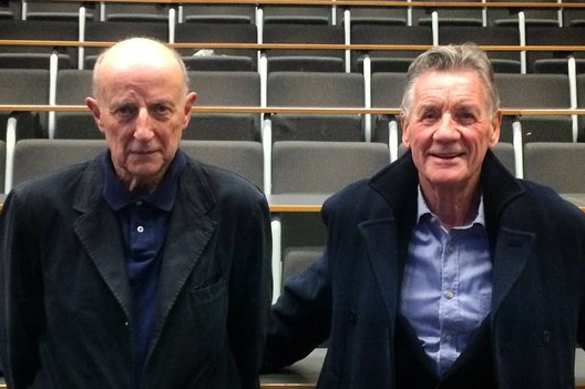 Tristram Powell and Michael Palin
